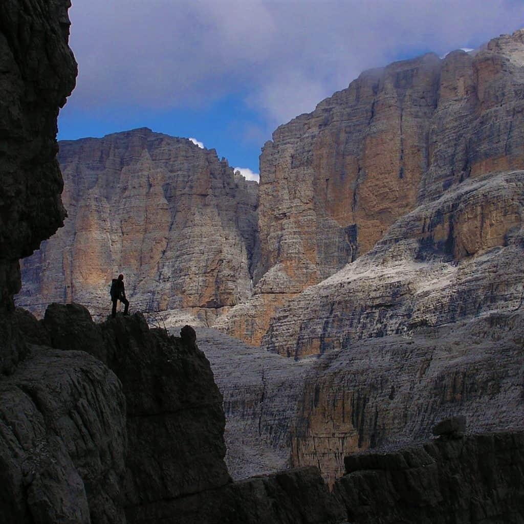 Klettersteige in der Brenta: Sicherer mit guter Ausrüstung!