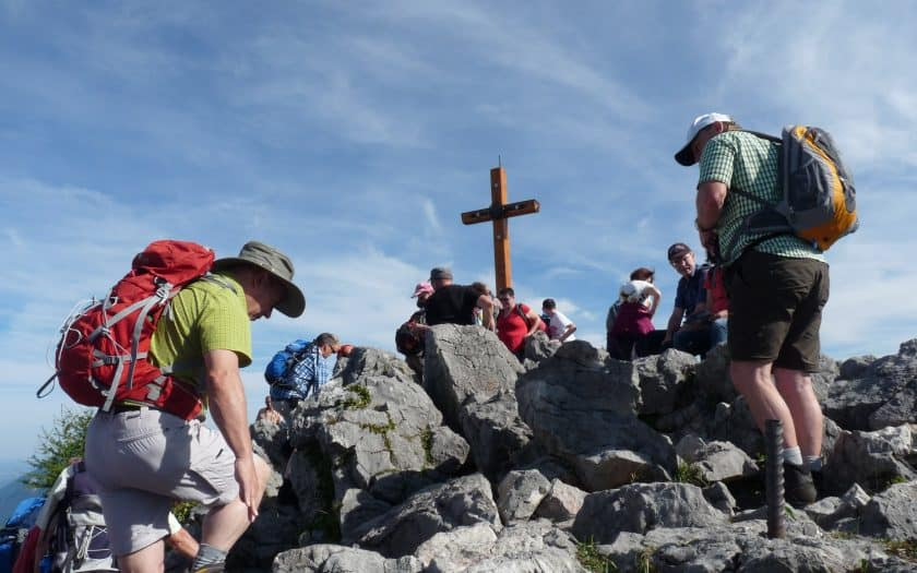 Bergsteigen Alpen