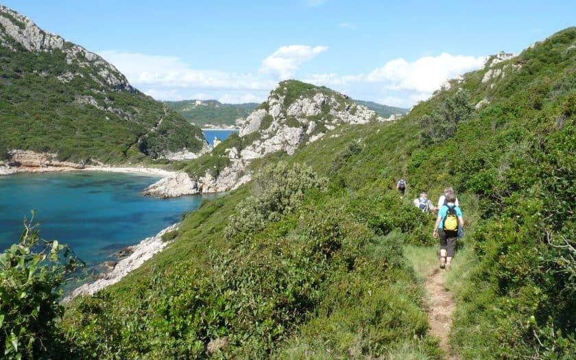 Wandern Korfu