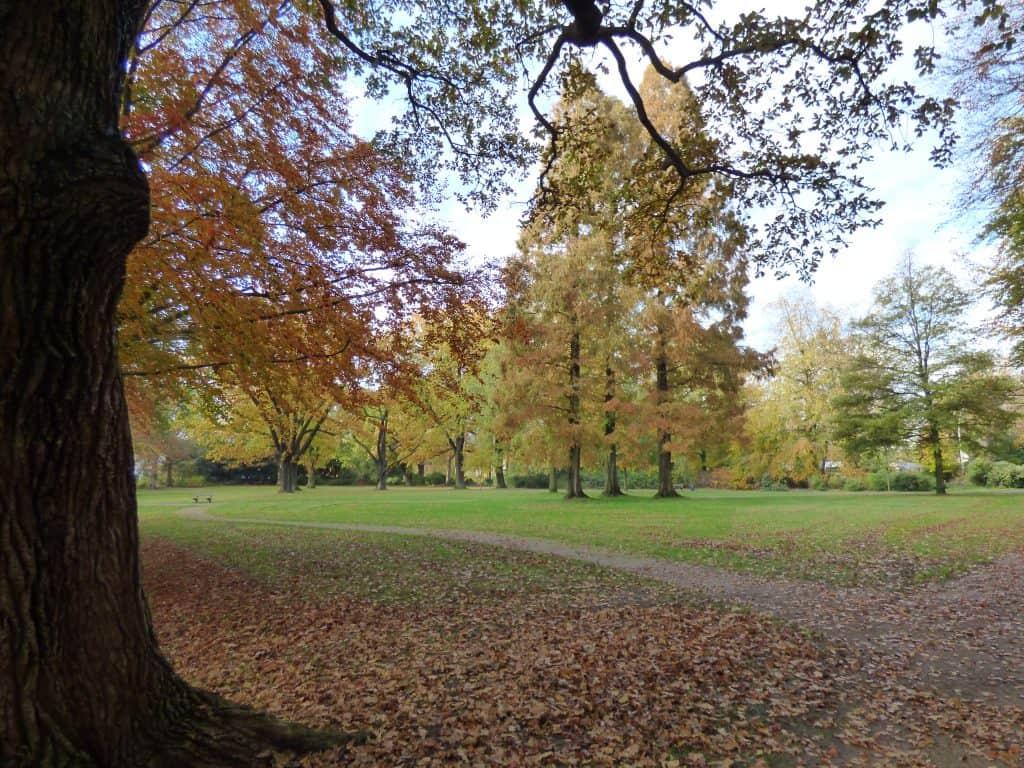 Slackline Stadtpark