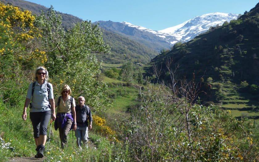 Wandern Andalusien