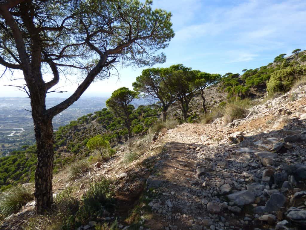 Wandern Sierra de Mijas