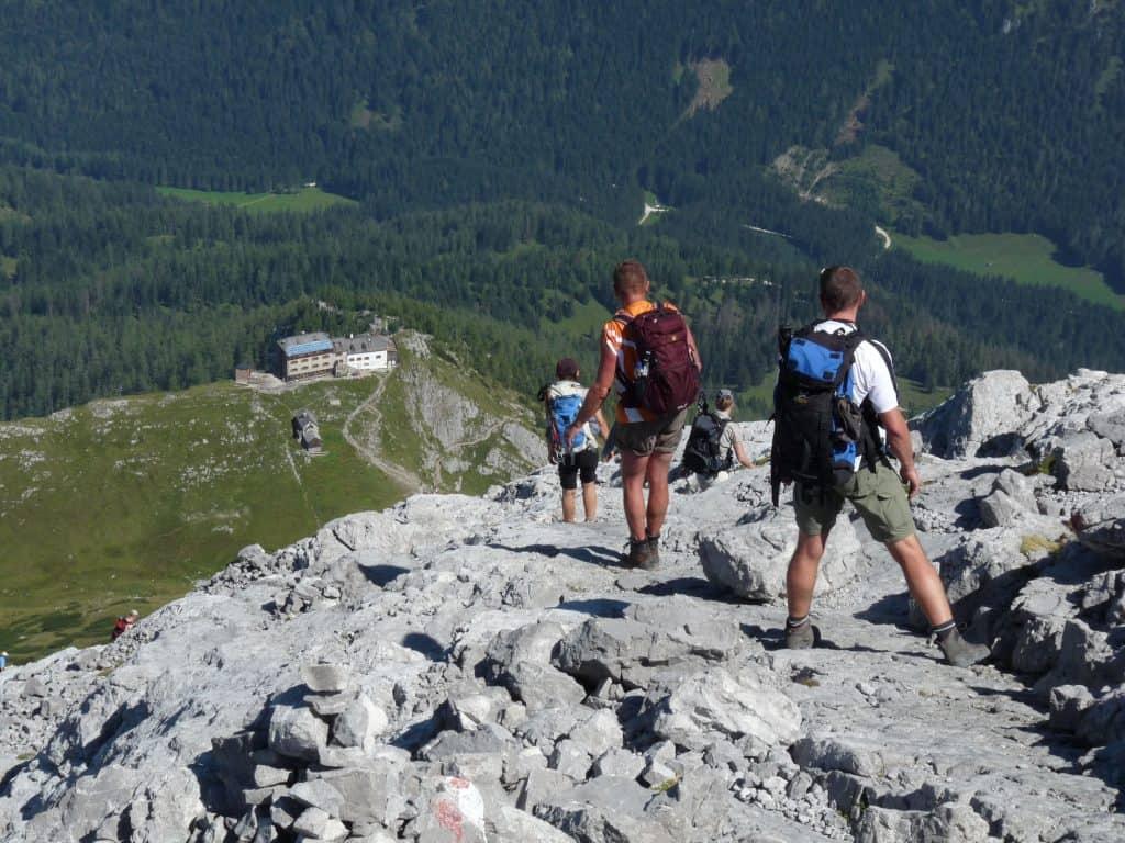Abstieg vom Watzmann