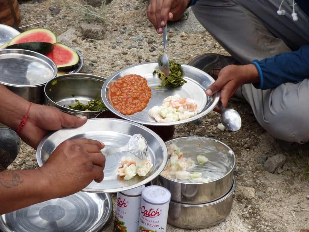 Essen auf Trekkingtour: Einfach und lecker, auch in Ladakh, Indien
