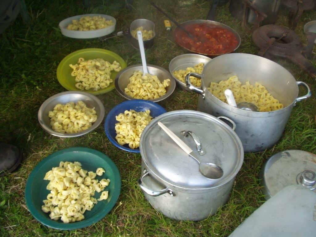 Essen auf Trekkingtour: Tortellini