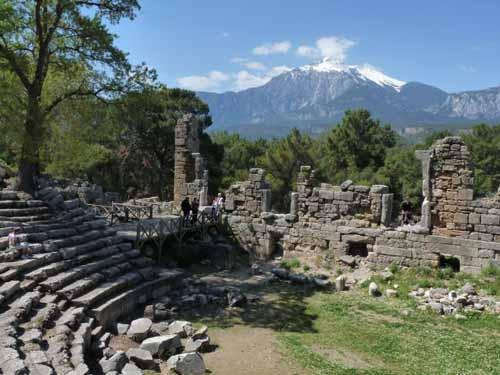 Wandern im März in der Türkei: Strand, Geschichte und Berge