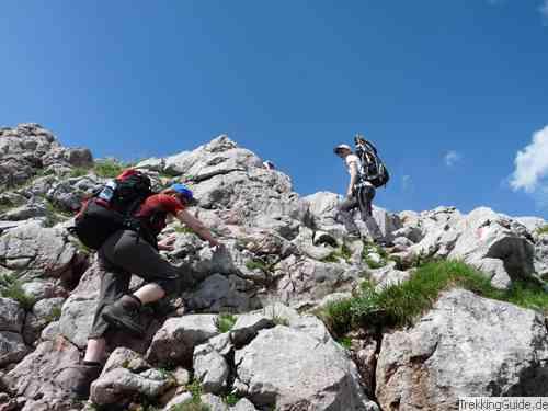 Watzmanntrek: Anspruchsvolle Bergtour