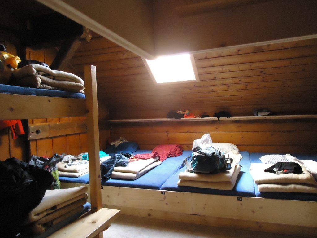 Übernachten auf Berghütten: Nicht gerade Luxus ...