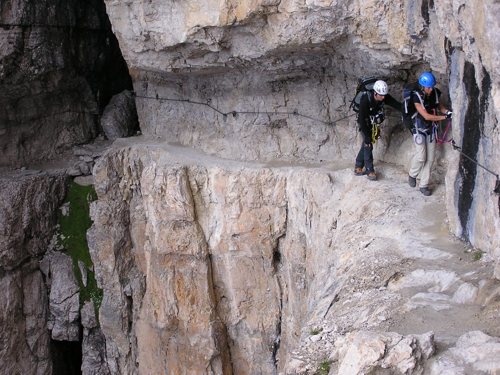 Klettersteige in der Brenta