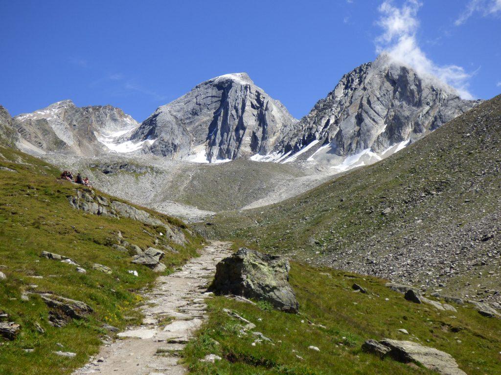 Die Gipfel am Eisjöchl: Satte 3000er