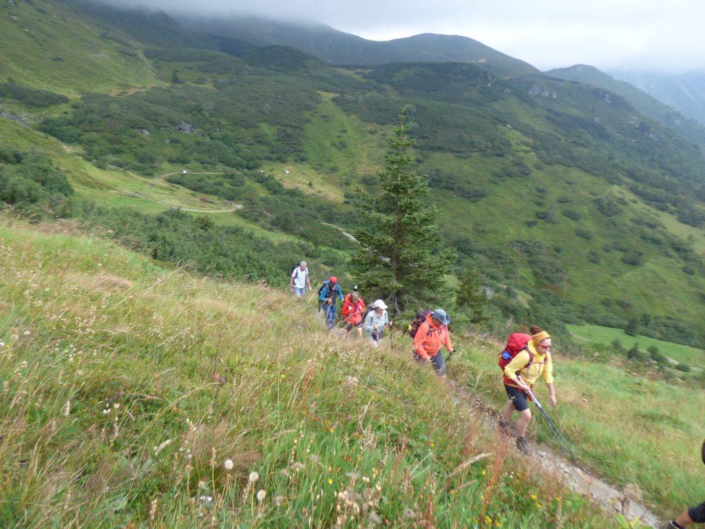 Alpenüberquerung auf moderaten Wegen