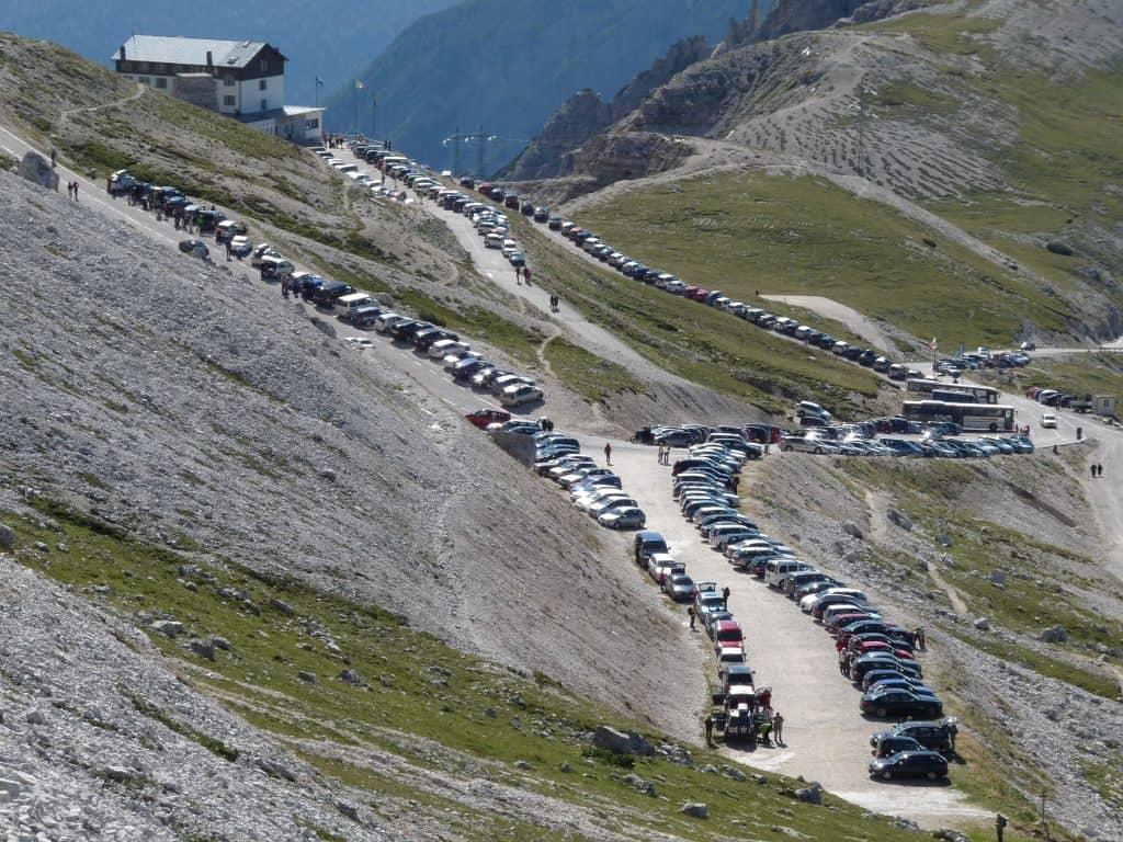 Mit dem Auto bis zum Berg ... wie lange noch?