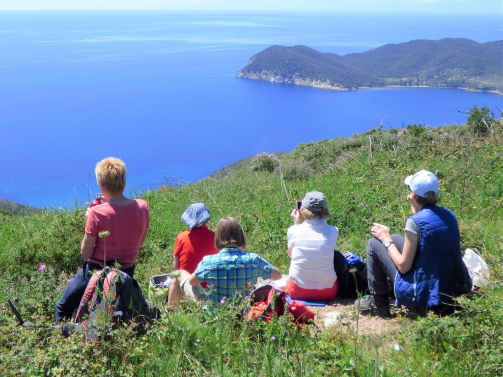 Bergwandern auf Elba