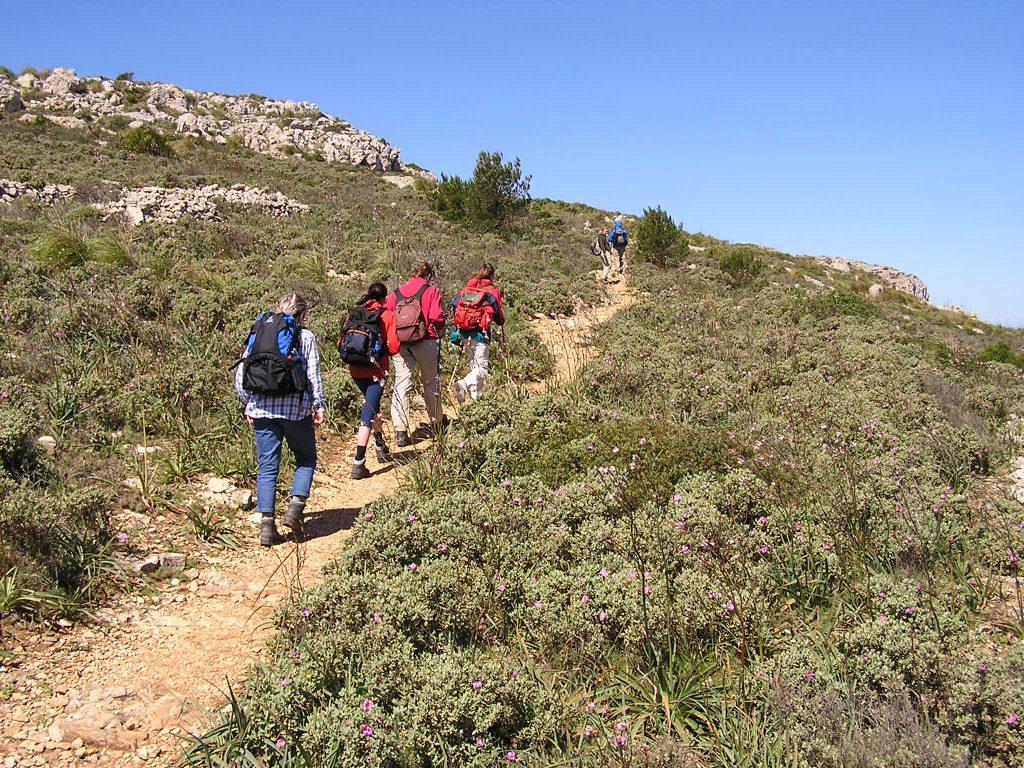 Wandern am Mittelmeer mit dem Alpenverein
