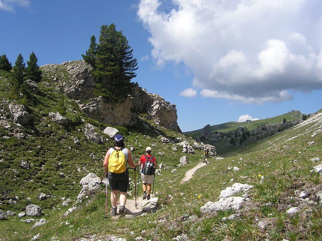 Trekking in Slowenien