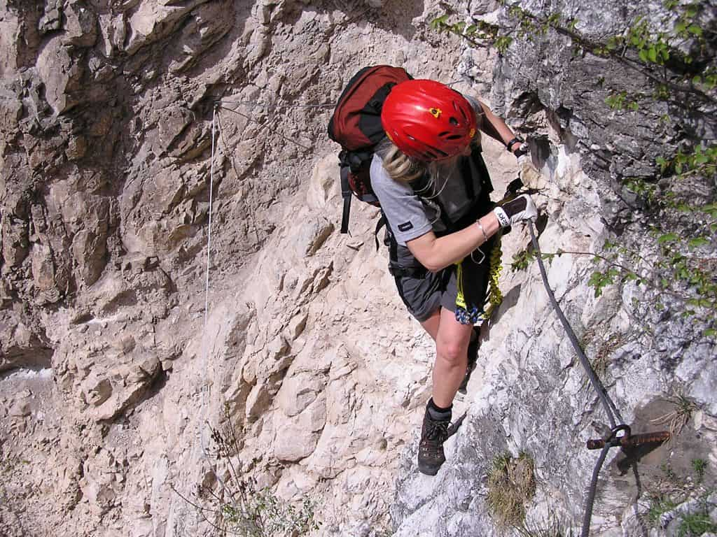 Klettersteige werden immer beliebter.