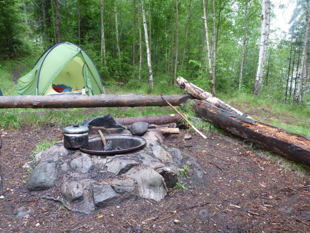 Trekkingplätze: Zelten wie in Schweden