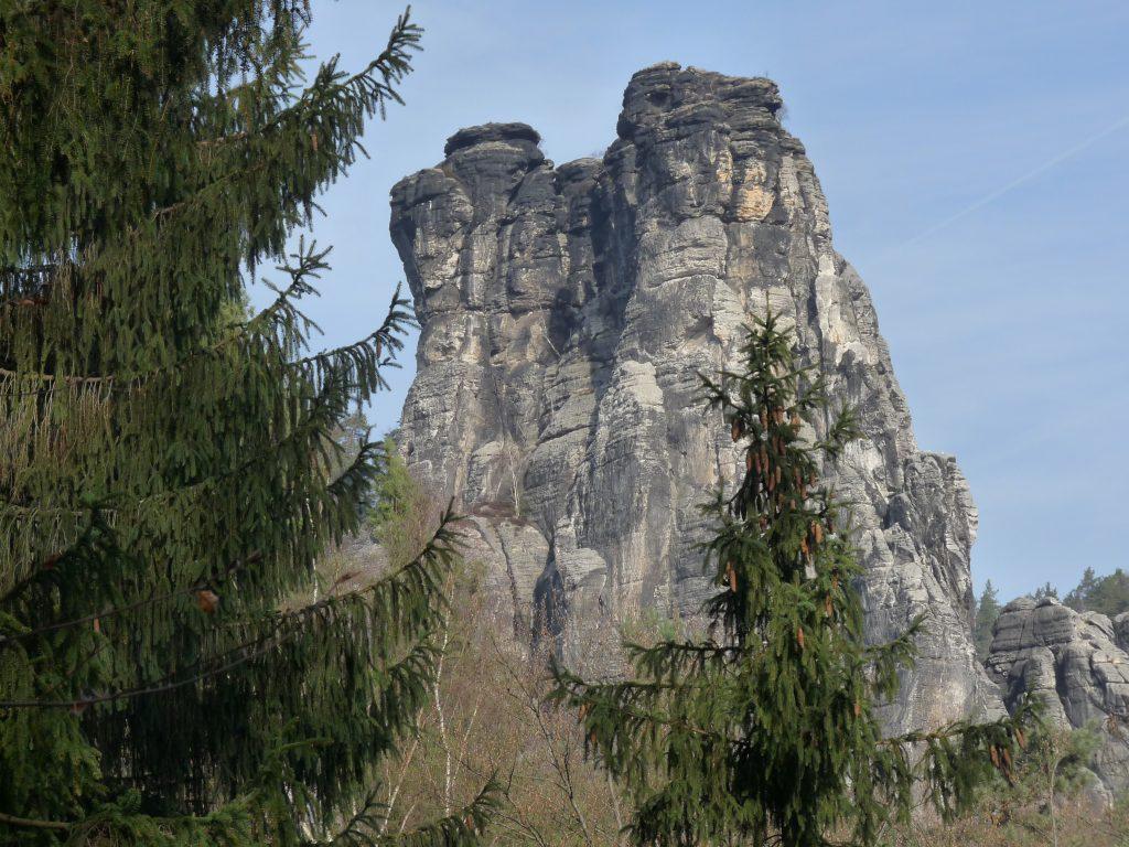 Die Felsen im Nationalpark Sächsische Schweiz