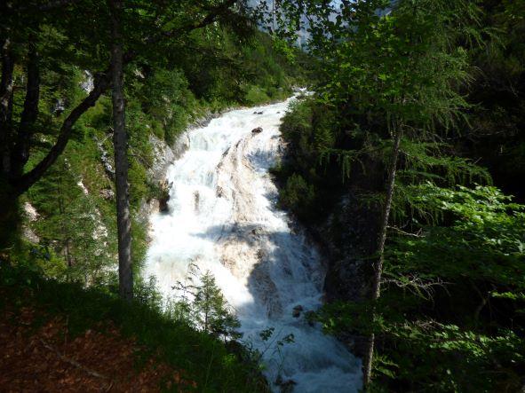 Der Karwendel-Wasserfall